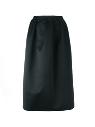 N 21 N.21 Pleated Midi Skirt Black