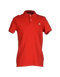 Murphy And Nye Topwear Polo Shirts Men Red
