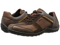 Geox Mpavel6 Cognac Dark Brown Men's Shoes