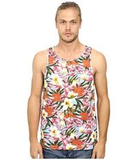 Deus Ex Machina Kei Tank Top Blue Floral Men's Sleeveless Multi