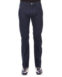 Stefano Ricci Palladio Five Pocket Denim Jeans Blue