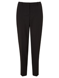 Boss Logo Boss Wool Suit Trousers Black