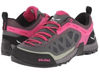 Salewa Firetail 3 Pewter Pinky Women's Shoes Gray