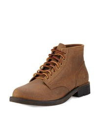 Eastland Edition Jackson 1955 Distressed Suede Boot Dark Khaki