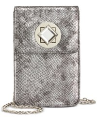 Inc International Concepts Phone Clutch Crossbody Only At Macy's Pewter