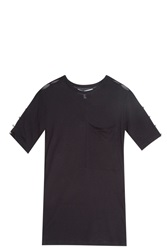 Derek Lam Studded T Shirt Black