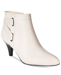Alfani Women's Vandela 2 Ankle Booties Only At Macy's Women's Shoes Ivory