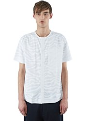 Oamc Short Sleeved Snap Front Shirt White