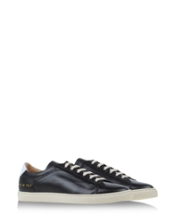 Common Projects Low Tops Black
