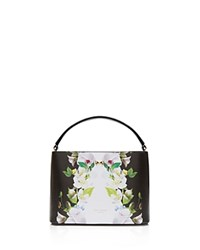 Ted Baker Forget Me Not Bow Mini Satchel Black