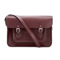 The Cambridge Satchel Company Women's 14 Inch Magnetic Oxblood