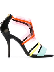 Pierre Hardy 'Shades' Sandals Multicolour