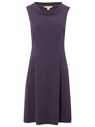 White Stuff Selina Jersey Dress Purple