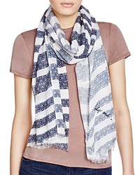 Lily And Lionel Lily And Lionel Hetty Striped Scarf Nautical Blue