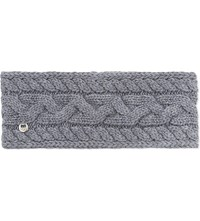 Ugg Cable Knit Wool Blend Headband Steel Heather M