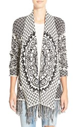 Junior Women's Rip Curl 'Celestial' Cardigan Black