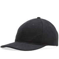 Wings Horns Melton Wool 6 Panel Cap Black