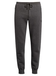 Dolce And Gabbana Drawstring Waist Track Pants Grey