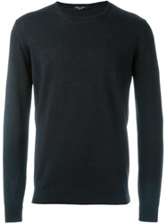Roberto Collina Crew Neck Sweater Black