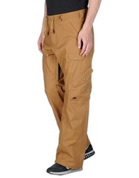 Analog Casual Pants Camel