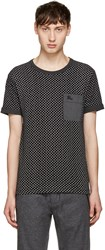 Burberry Black Sandon T Shirt