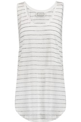 By Malene Birger Ersonta Striped Slub Linen Tank