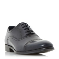 Howick Ripler Toe Cap Detail Oxford Shoes Navy