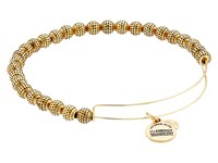 Alex And Ani Euphrates Beaded Expandable Bangle Russian Gold Bracelet