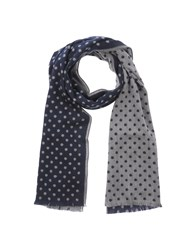 Baldessarini Accessories Oblong Scarves Men Dark Blue