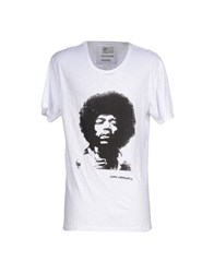 Red Soul Topwear T Shirts Men White