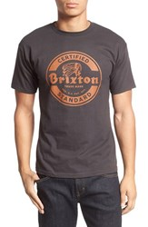 Brixton Men's 'Soto' Graphic Crewneck T Shirt