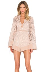 Alice Mccall My One And Only Playsuit Blush