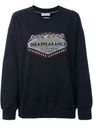 Each X Other 'Disappearance' Sweatshirt Black