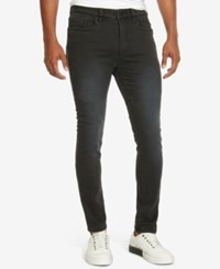 Kenneth Cole New York Men's Skinny Fit Pants Black