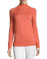 See By Chloe Turtleneck Raglan Sweater Salmon