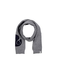 Duck Farm Oblong Scarves Grey