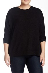 Jack Bethany Glitter Sweater Plus Size Black