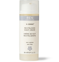 Ren Skincare V Cense Revitalising Night Cream 50Ml White
