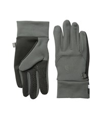 The North Face Etip Glove Fusebox Grey Extreme Cold Weather Gloves Gray