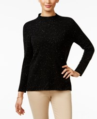 Charter Club Cashmere Donegal Sweater Only At Macy's Classic Black
