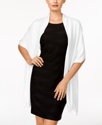 Inc International Concepts Satin Wrap Only At Macy's White