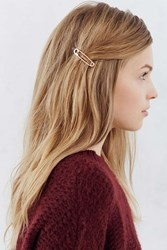 Urban Outfitters Safety Pin Bobby Pin Set Gold