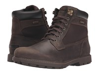 Rockport Rugged Bucks Waterproof High Boot Dark Brown Men's Waterproof Boots