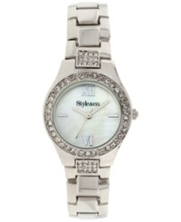 Styleandco. Style And Co. Women's Silver Tone Bracelet Watch 28Mm Sc1427