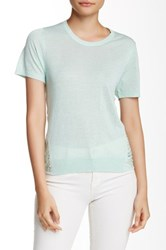 Parker Paterson Knit Burnout Sweater Green