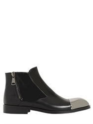 Roberto Botticelli Metal Toe Leather Ankle Boots