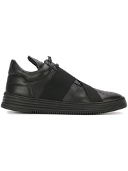 Filling Pieces Strap Detail Sneakers Black