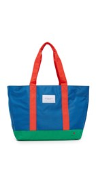 State Snyder Tote Royal Blue Multi