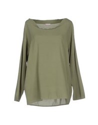 Rossopuro Blouses Military Green