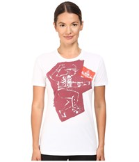 Vivienne Westwood Tribal Block T Shirt Optical White